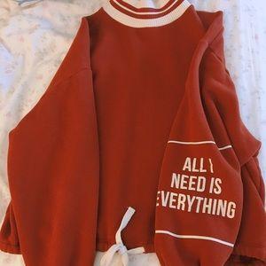 Zara sweater hoodie